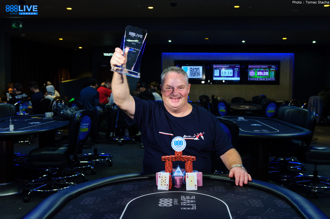 Ian Hunter Wins the £5,000 Super High Roller