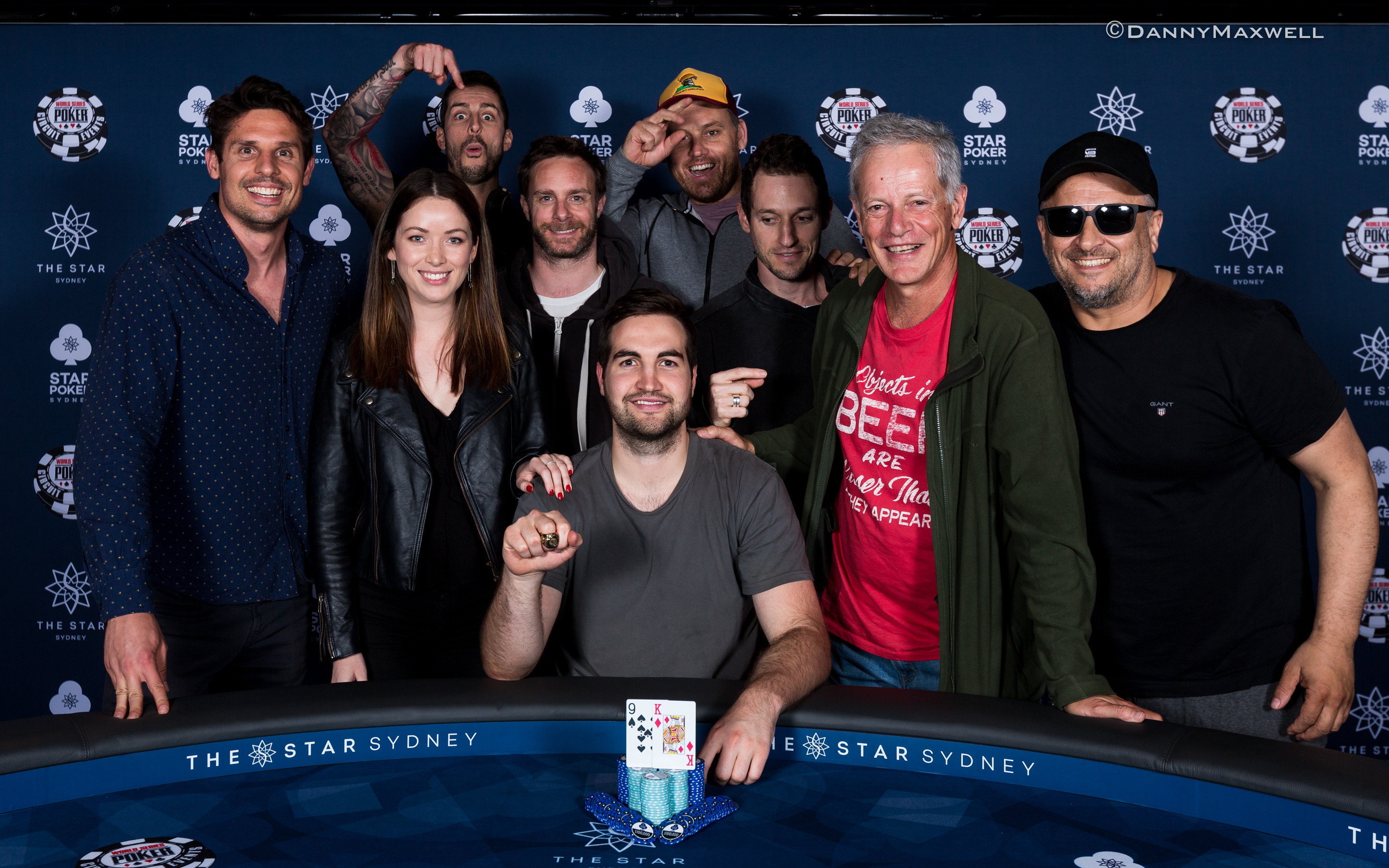 Andrew White -2018 WSOP International Circuit The Star Sydney $1,150 Monster Stack Champion