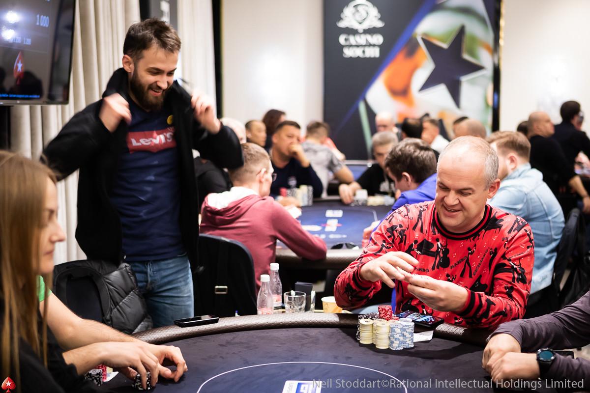 Aleksandr Denisov (right)