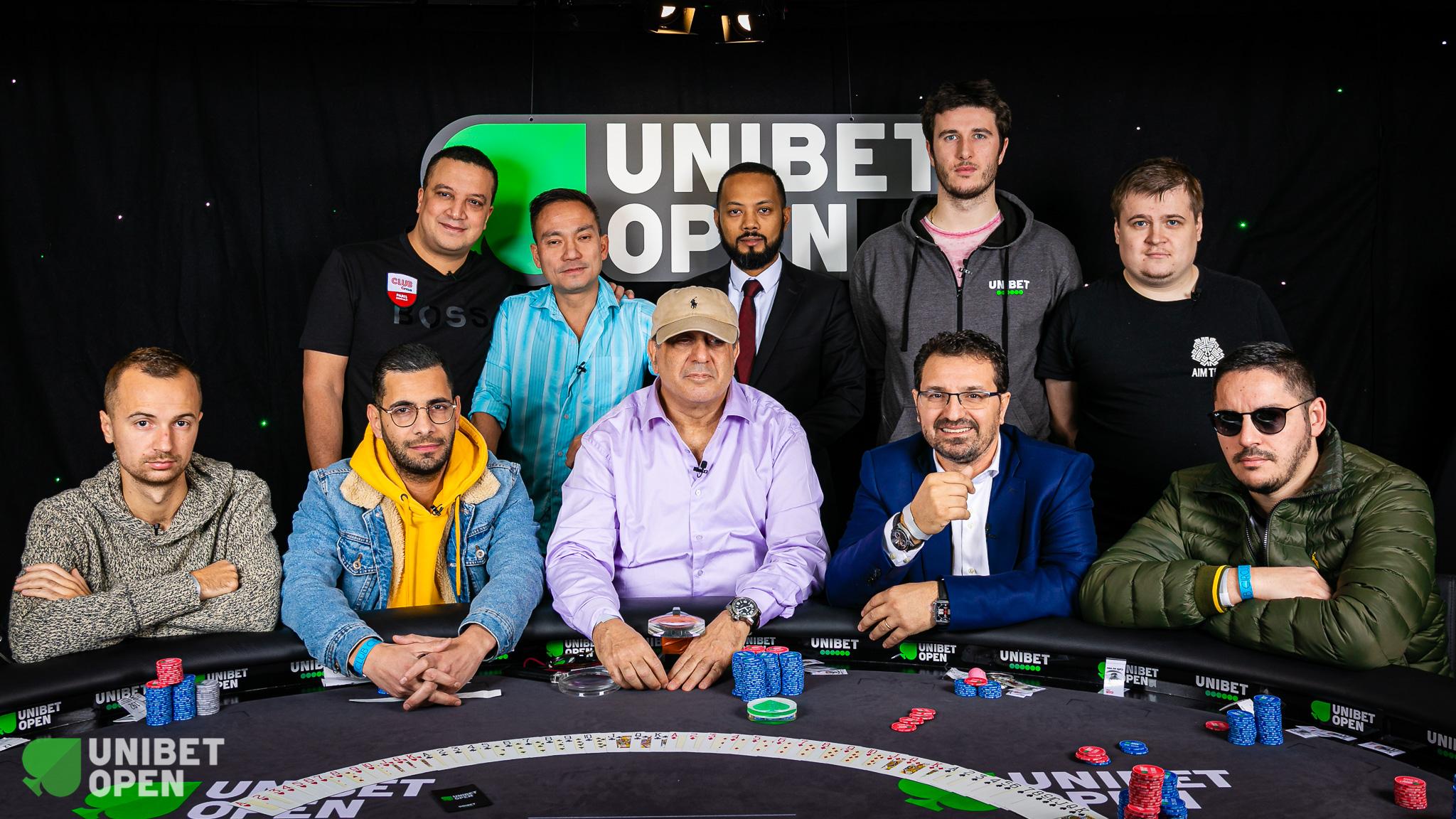 Unibet Open Paris Final Table