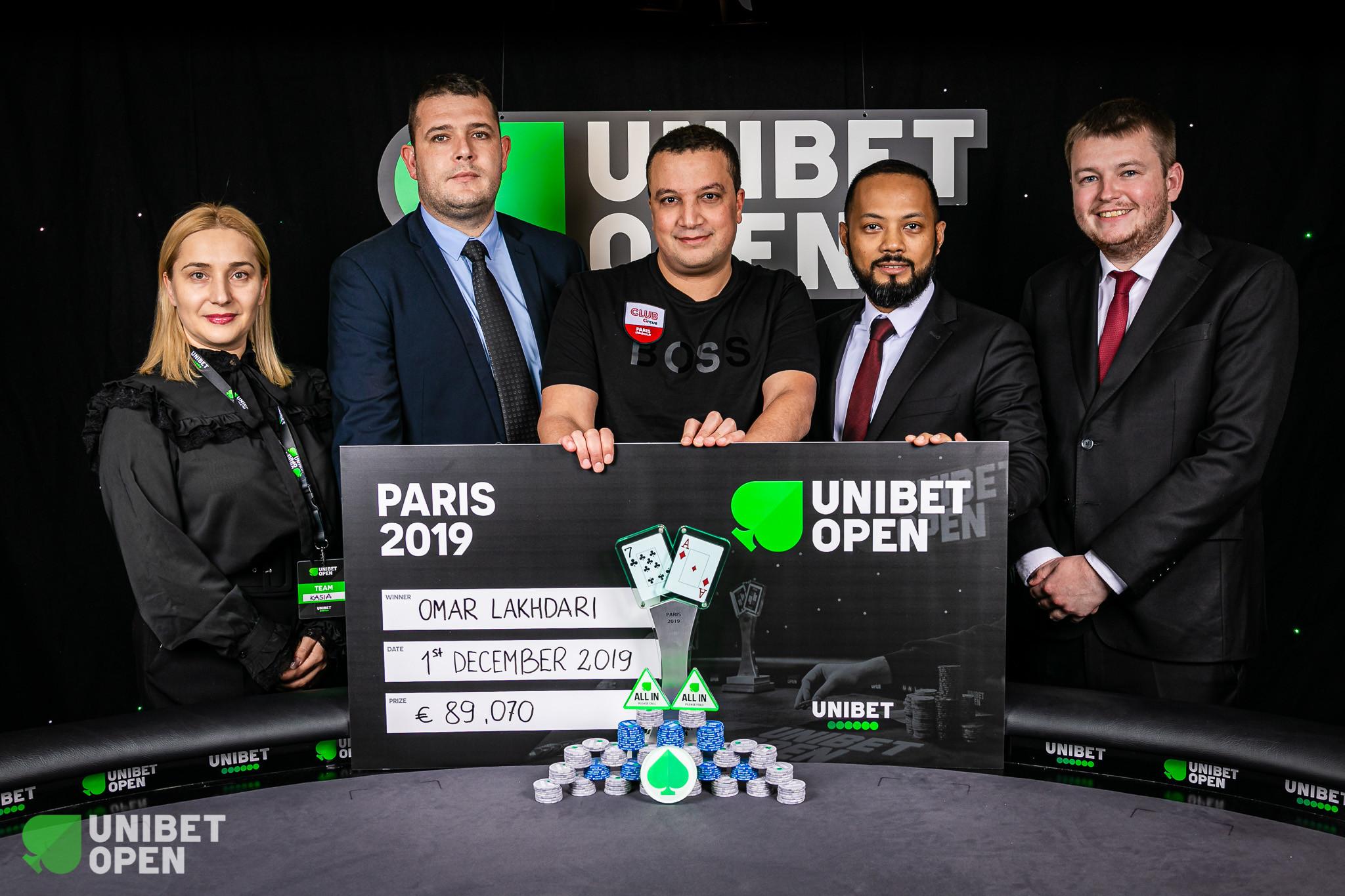 Omar Lakhdari wins Unibet Open Paris