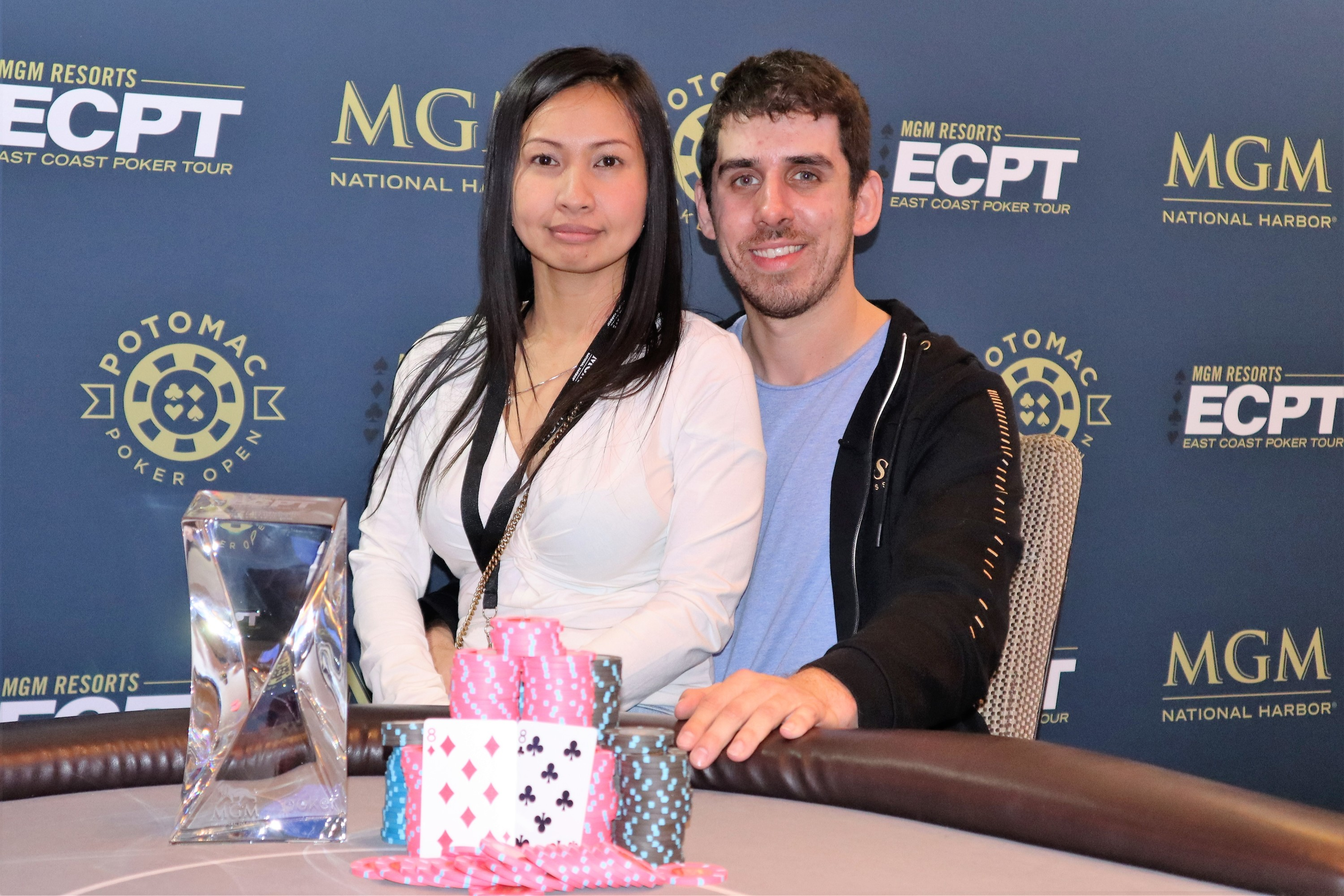 Matthew Sesso wins the 2020 Potomac Winter Poker Open Main Event