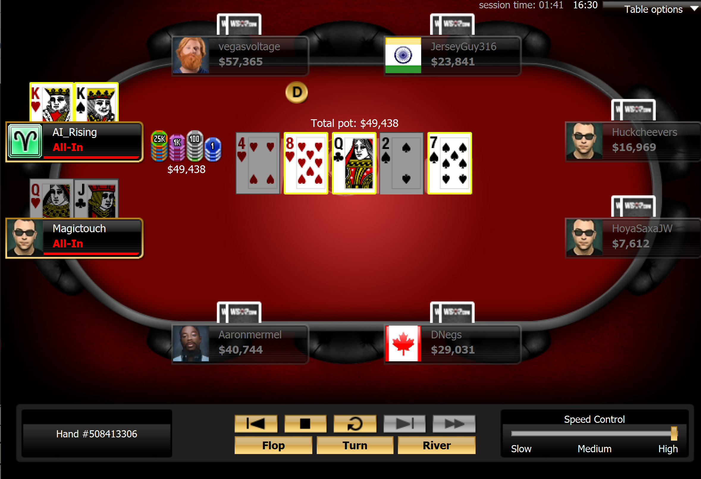 Ibrahim Doubles With Kings