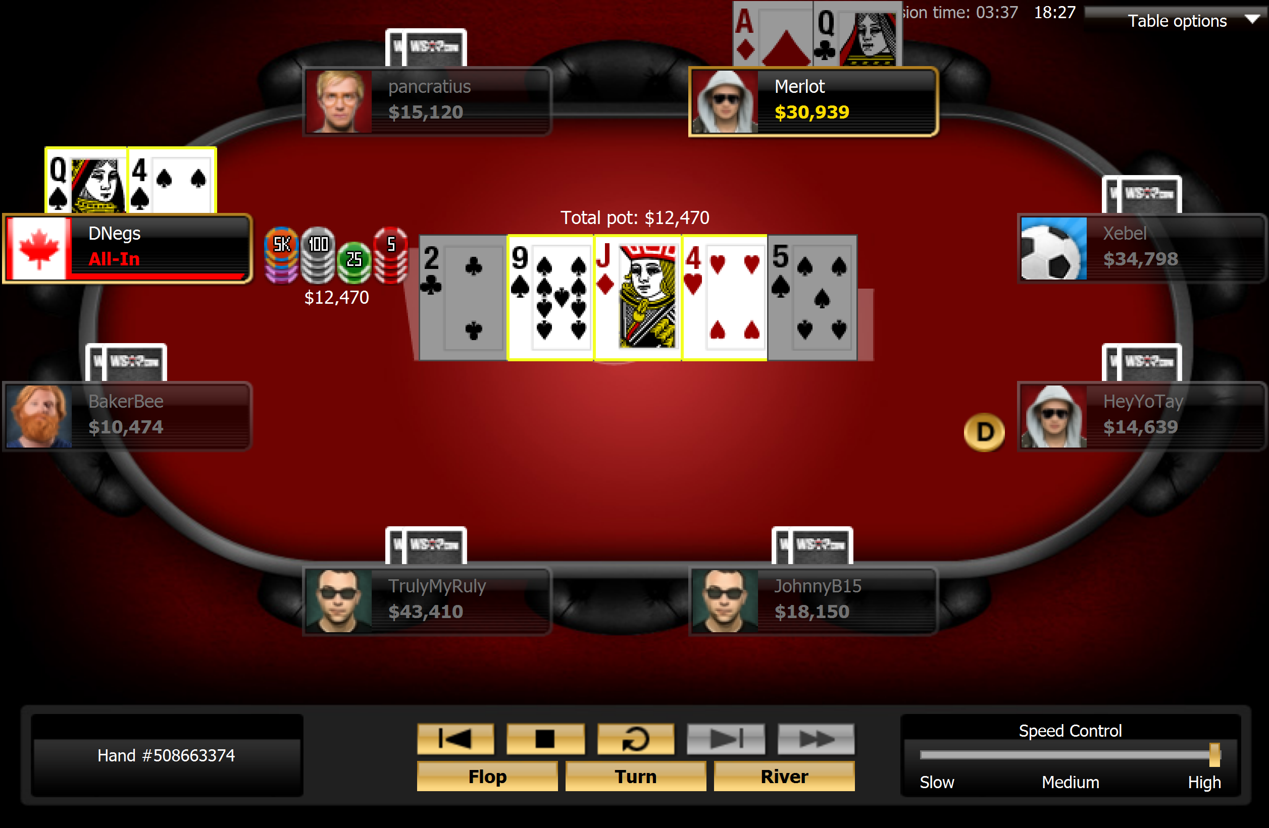 Negreanu Climbing Back to the Surface