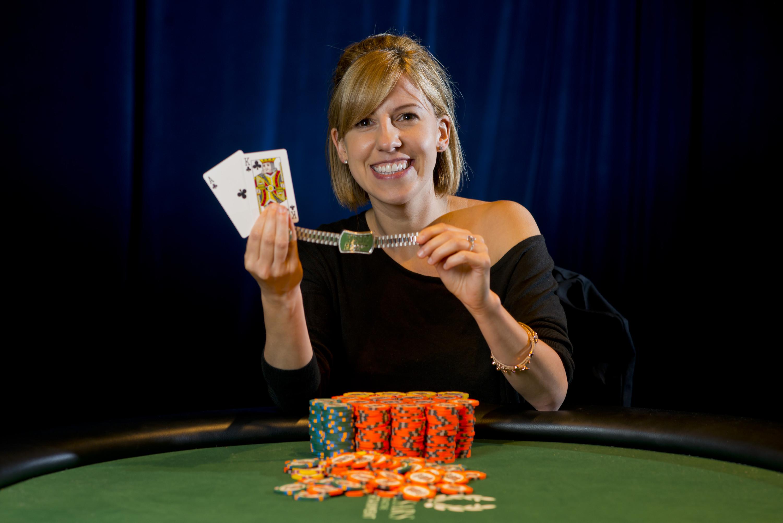 2013 WSOP Ladies Event Gold Bracelet Winner Kristen Bicknell