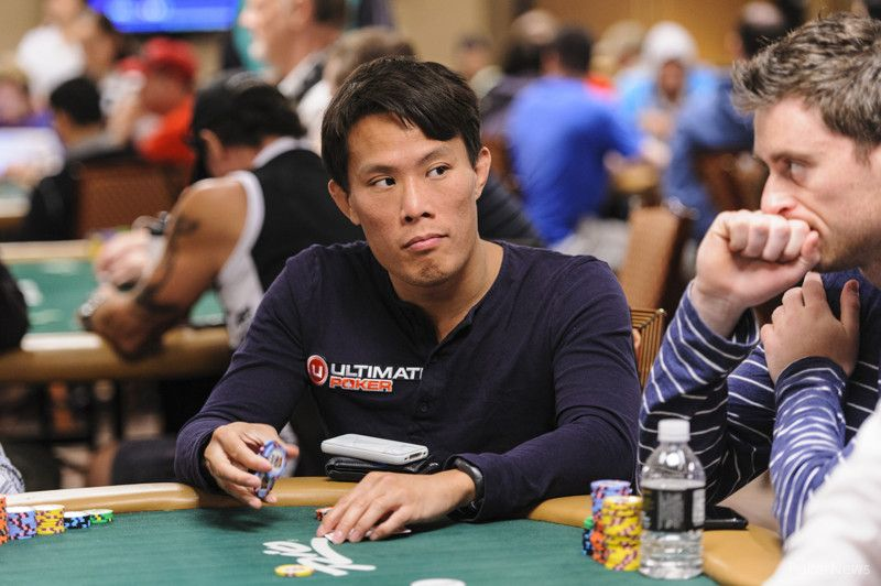 Terrence Chan before being eliminated from Day 2b