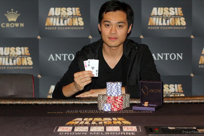 Chen enjoys his Aussie Millions victory