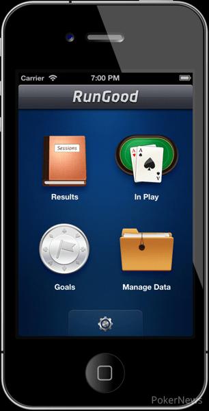 poker tracking app RunGood