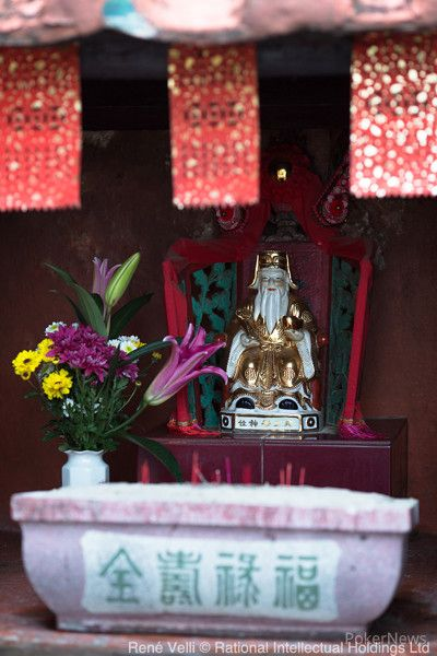 One of Macau's many temples