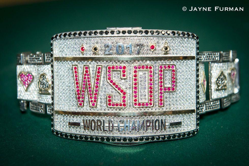 2017 WSOP Main Event Bracelet