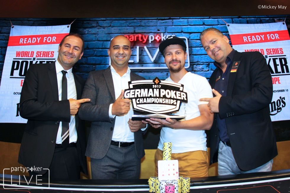 Arsenii Karmatckii Wins 2017 German Poker Championship Main Event