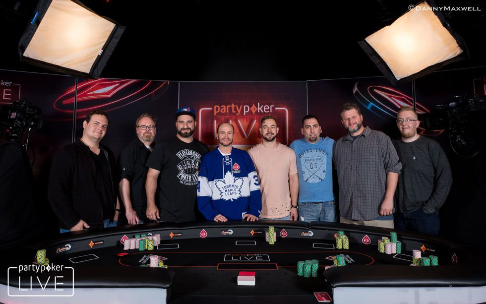 $2,200 partypoker Canadian Poker Championships - Final Table