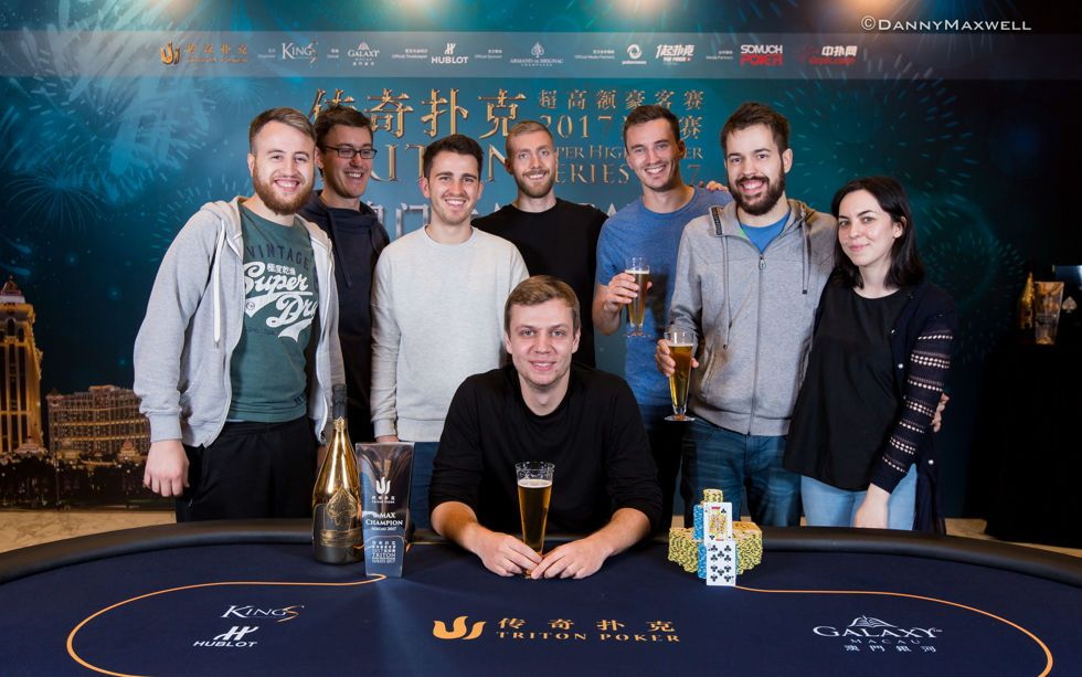 Stefan Schillhabel - 2017 Triton Super High Roller Series MacauHK $250,000 6-Ma