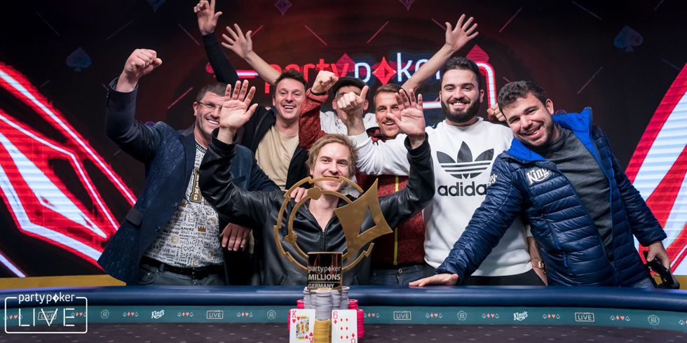 Viktor Blom Wins the 2018 partypoker LIVE MILLIONS Germany Main Event