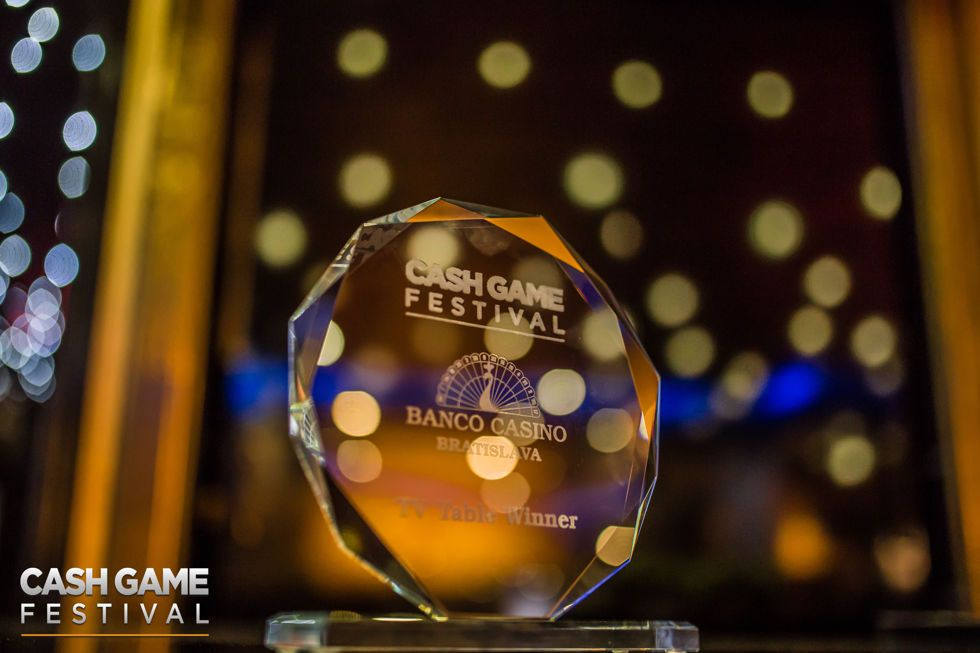 Cash Game Festival Bratislava Trophy