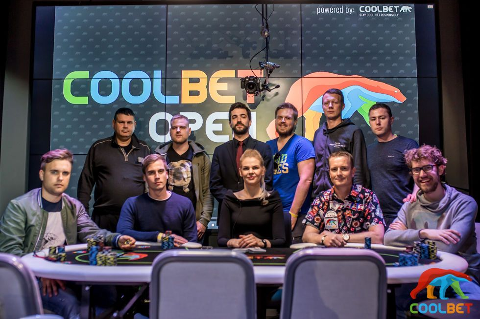 Coolbet Open Main Event Final Table