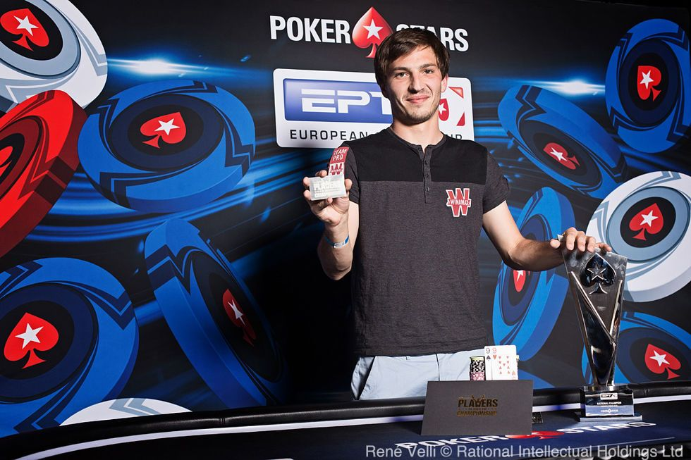 Winner EPT National Guillaume Diaz