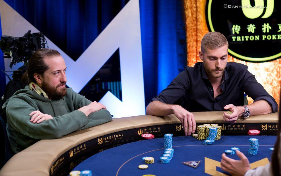 Steve O'Dwyer and Manig Loeser clash