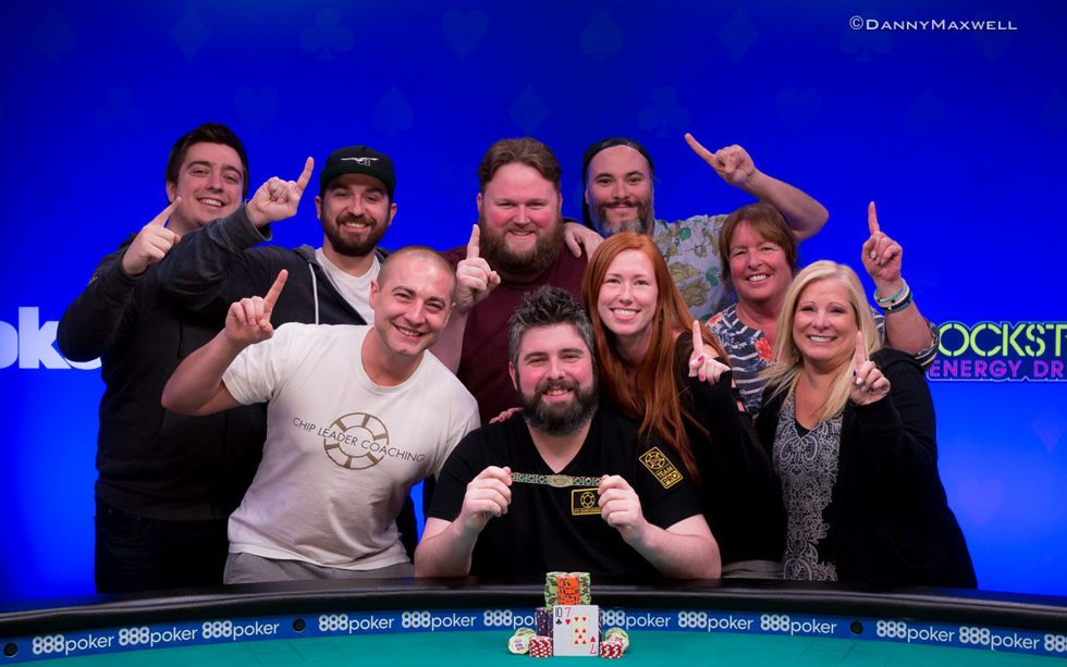 Ryan Leng - 2018 WSOP $1,500 No-Limit Hold'em Bounty Winner