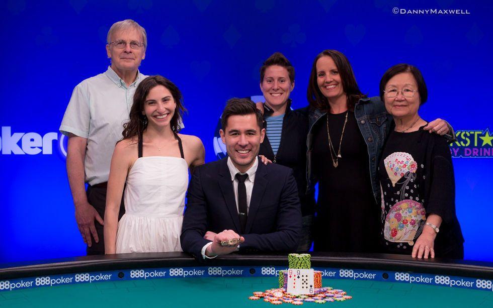 Galen Hall - 2018 WSOP $888 Crazy Eights No-Limit Hold'em 8-Handed - $888,888 Gu