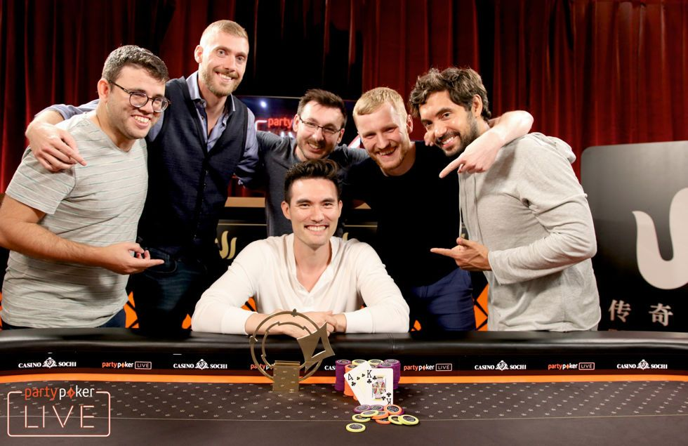 Aymon Hata wins the Triton Poker High Roller
