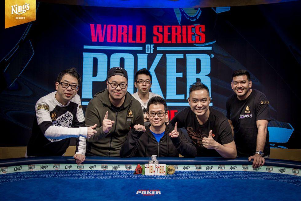 Anson Tsang Wins Event #7: €2,200 Pot-Limit Omaha 8-Handed