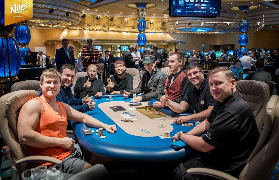 High Stakes Cash Game at King's Casino