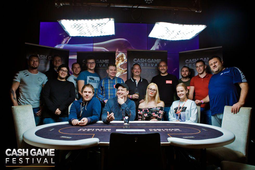 Cash Game Festival Tallinn Group Photo