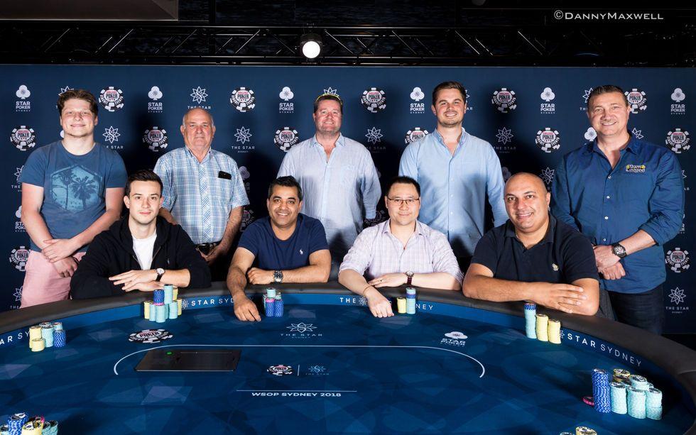 2018 WSOP International Circuit The Star Sydney $2,200 Main Event Final Table