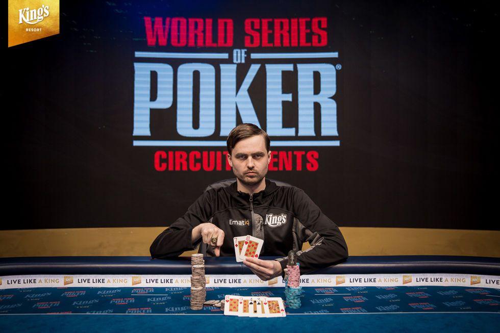 Martin Kabrhel Wins the 2019 WSOPC Rozvadov Main Event