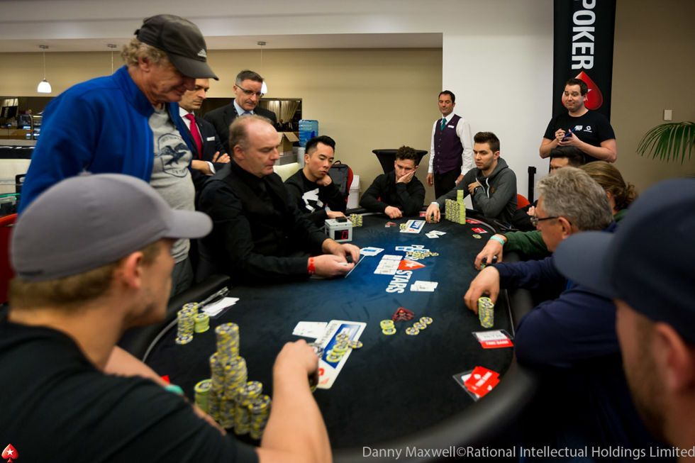 Daniel Dvoress bubbles the €50,000 Single-Day High Roller