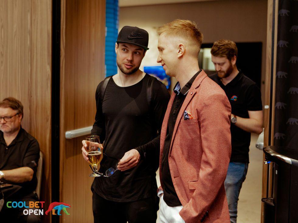 Oleksii Lubnin and Ervin Jarvsepp