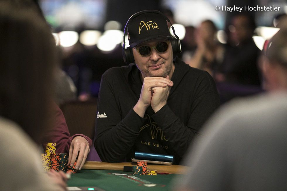 Day 2 featured a patented Phil Hellmuth blow-up