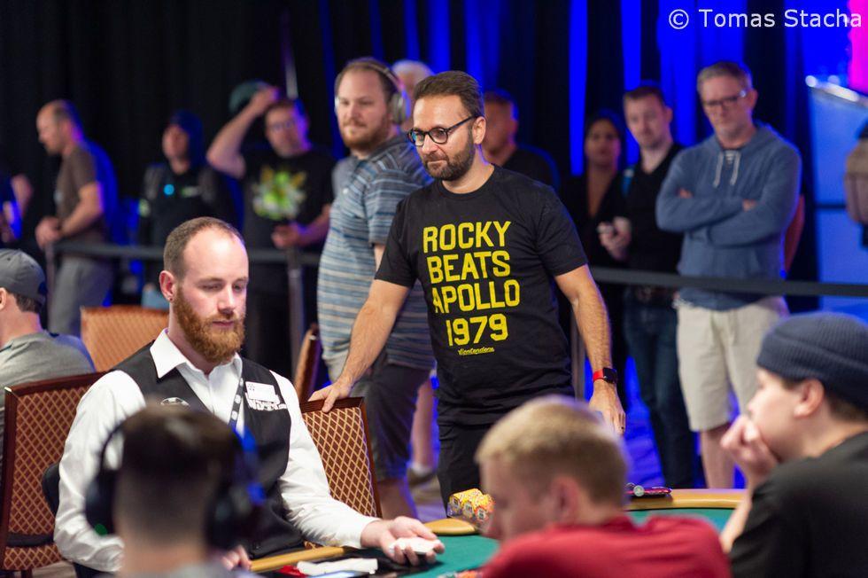 Daniel Negreanu failed to cash in the $50,000 High Roller
