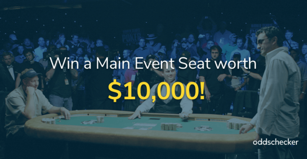 Oddschecker Main Event Seat Giveaway