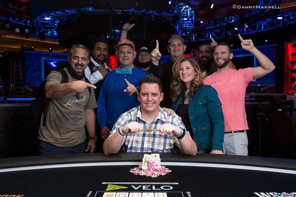 James Barnett - Event #1: $500 Casino Employees No-Limit Hold'em Winner