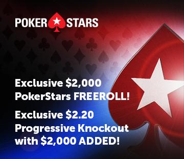 PokerStars Monthly $2k freeroll and $2k PKO
