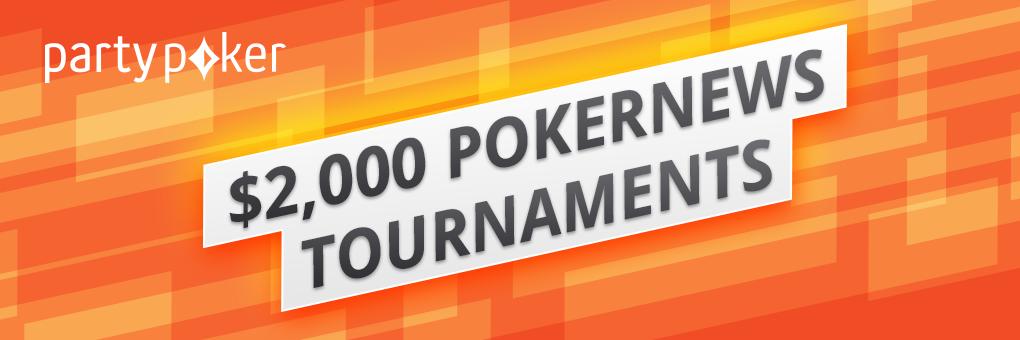 partypoker $2,000 PokerNews Tournaments