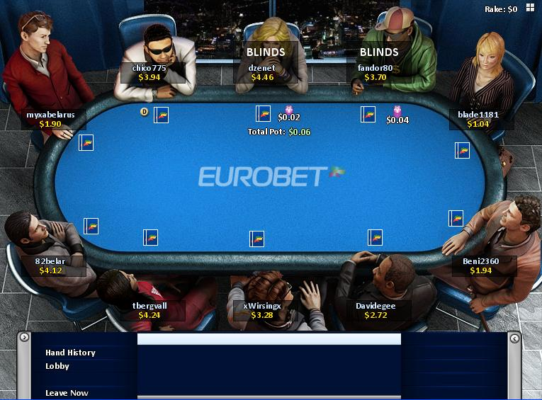 Eurobet it poker