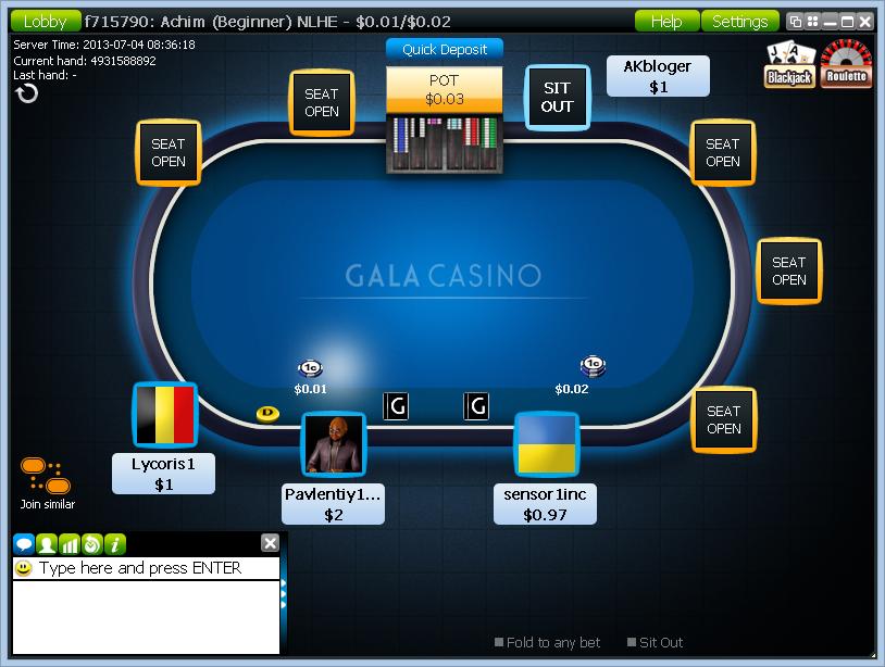 Poker in gala casino black casino casino craps gambling guide jack poker roulette winner