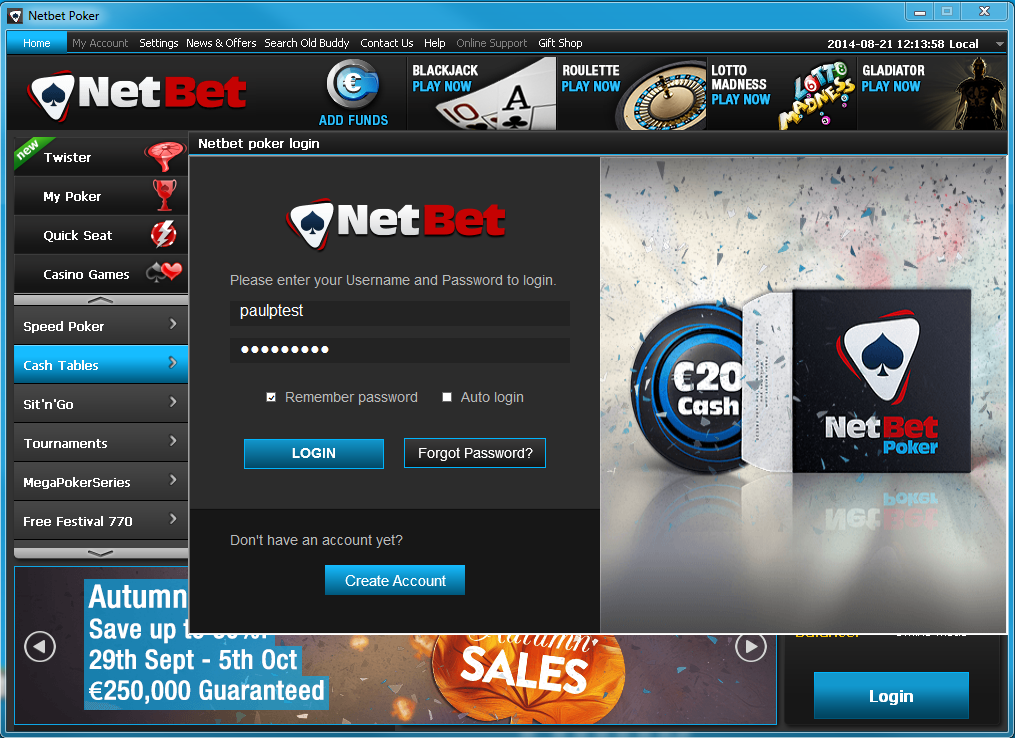 Netbet poker login truth about slot machines