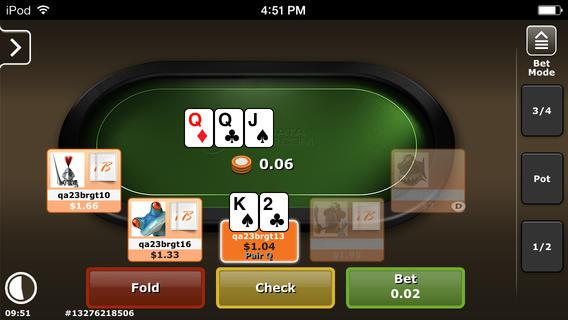 Poker polarisiert