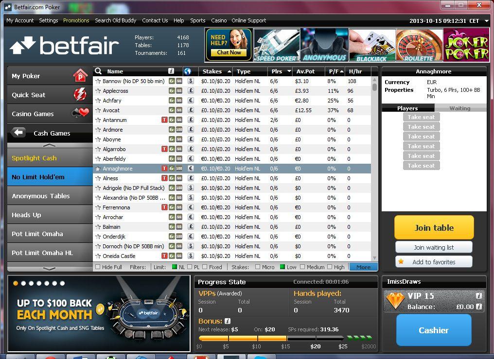 poker отзывы betfair
