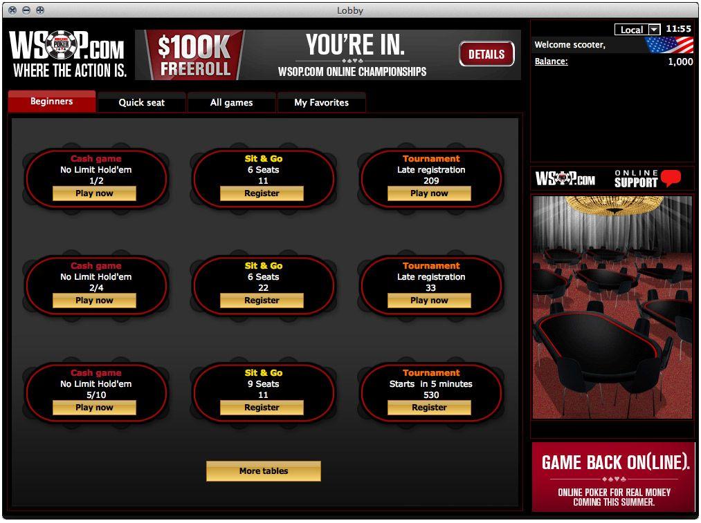 WSOP.co.uk Poker Review & Download: Get FREE £20 - PokerNews