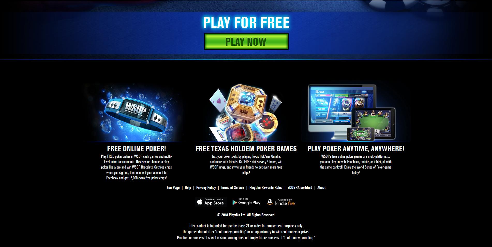 World Series of Poker Social Poker Room Reviews & Download | PokerNews