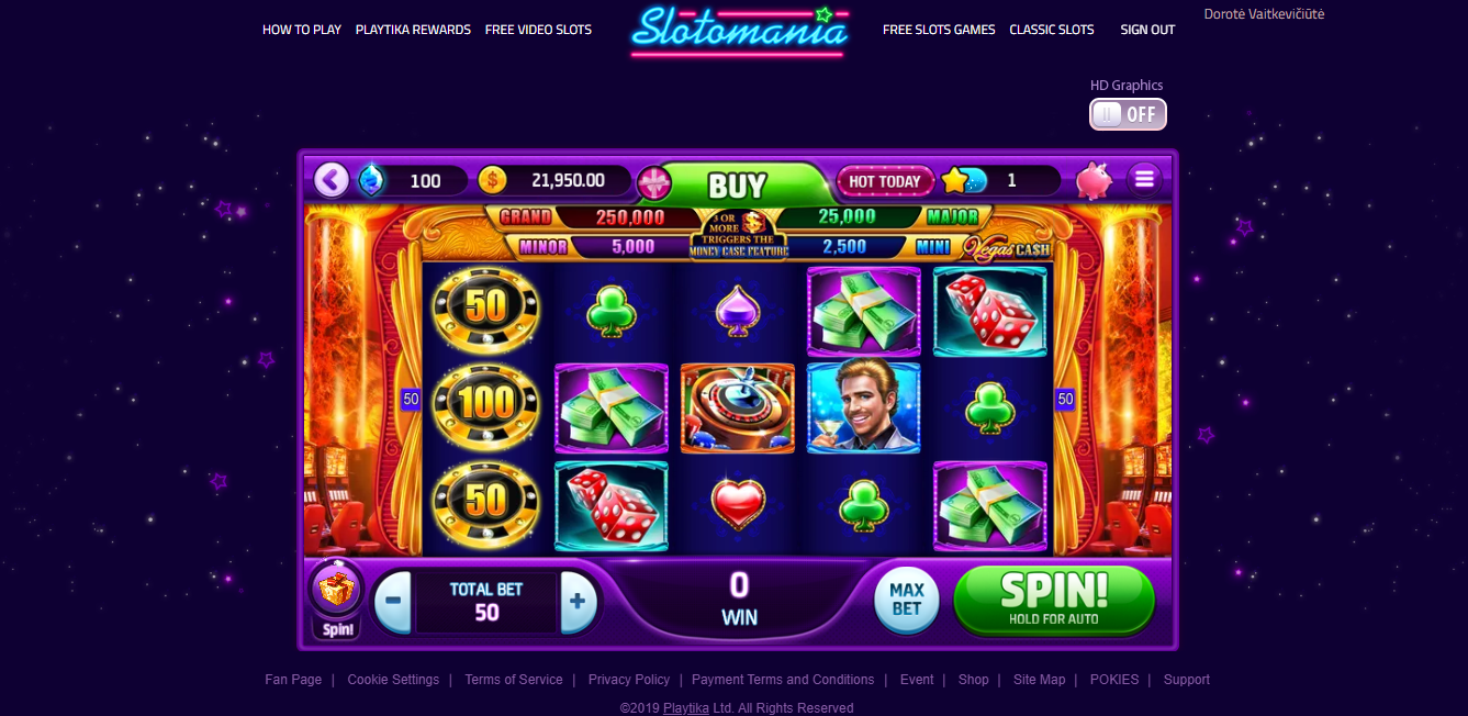 Does Slotomania Use Real Money
