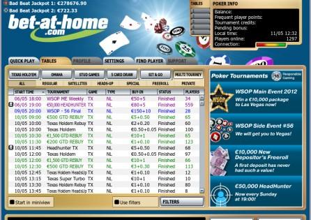 Tournaments' Lobby