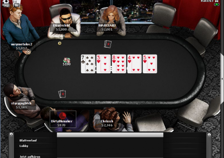 Betsafe Poker table