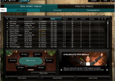 pkr poker 2