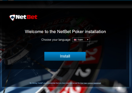 NetBet Install Window